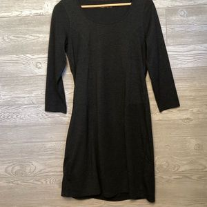 Prana Gray Scoopneck Dress Size S